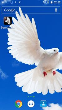 Dove 3D Live Wallpaper screenshot 4