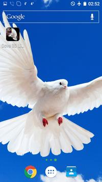 Dove 3D Live Wallpaper screenshot 1