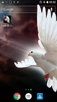 Dove 3D Live Wallpaper screenshot 2