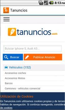 Tanuncios.com, Anuncios gratis screenshot 1