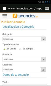 Tanuncios.com, Anuncios gratis screenshot 2