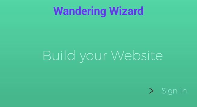 Website Builder screenshot 1
