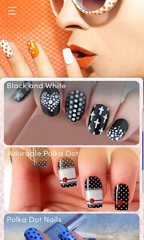 Simple Nail Art Designs Trendy Makeup Nailbook App For Android Apk