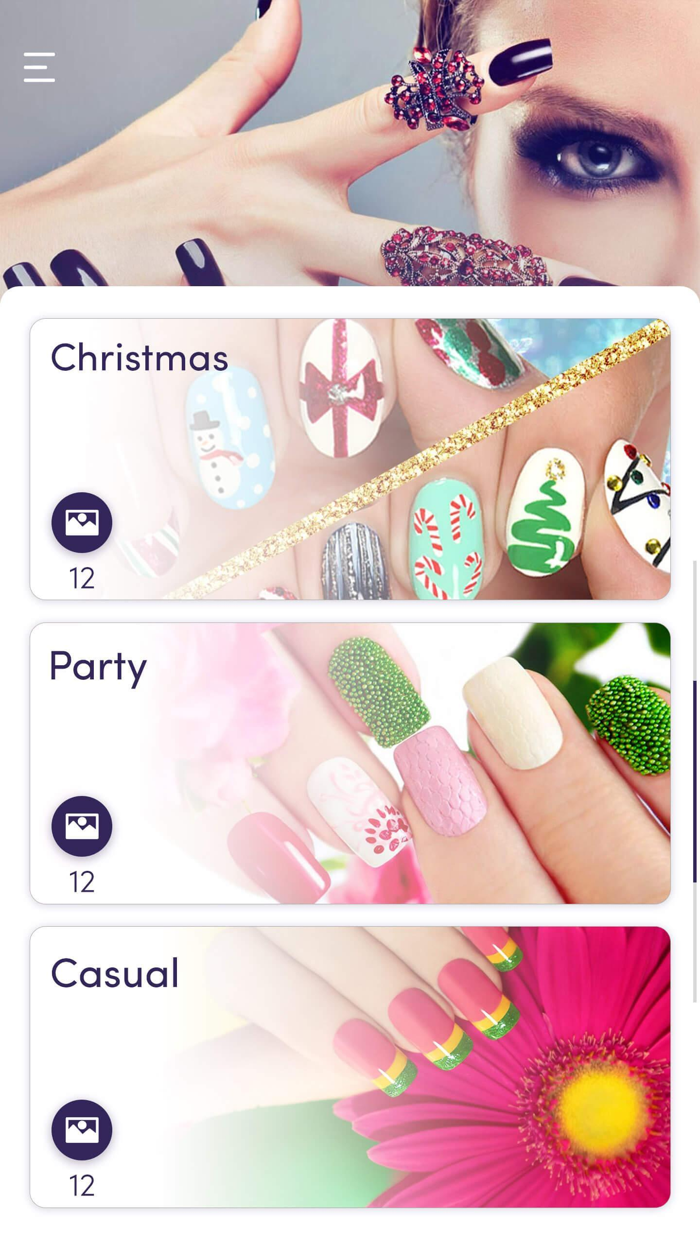 Simple Nail Art Designs Trendy Makeup Nailbook App for