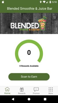 Blended Smoothies Rewards poster
