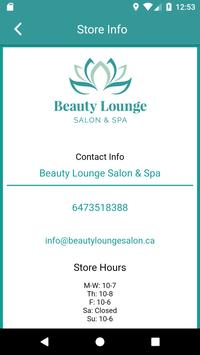 Beauty Lounge Salon screenshot 2