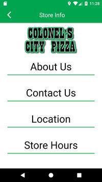 Colonel City Pizza Rewards screenshot 2