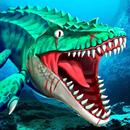 Jurassic Dino Water World-Mundo del agua dino APK
