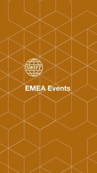 SWIFT EMEA Events poster