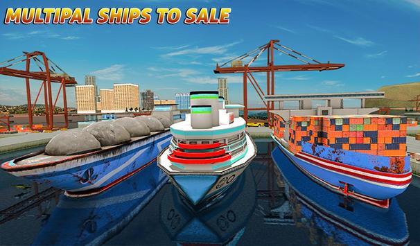 Груз корабль имитатор город грузовой транспорт 3D скриншот 11