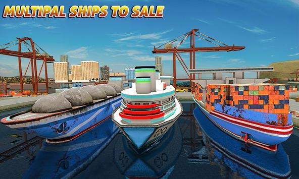 Груз корабль имитатор город грузовой транспорт 3D скриншот 1