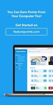 FeaturePoints: Get Rewarded apk imagem de tela