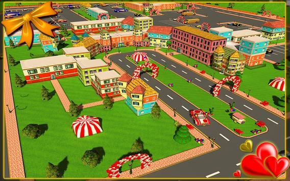 Car Parking Valentine 3D screenshot 6