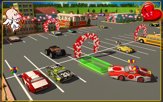 Car Parking Valentine 3D screenshot 10