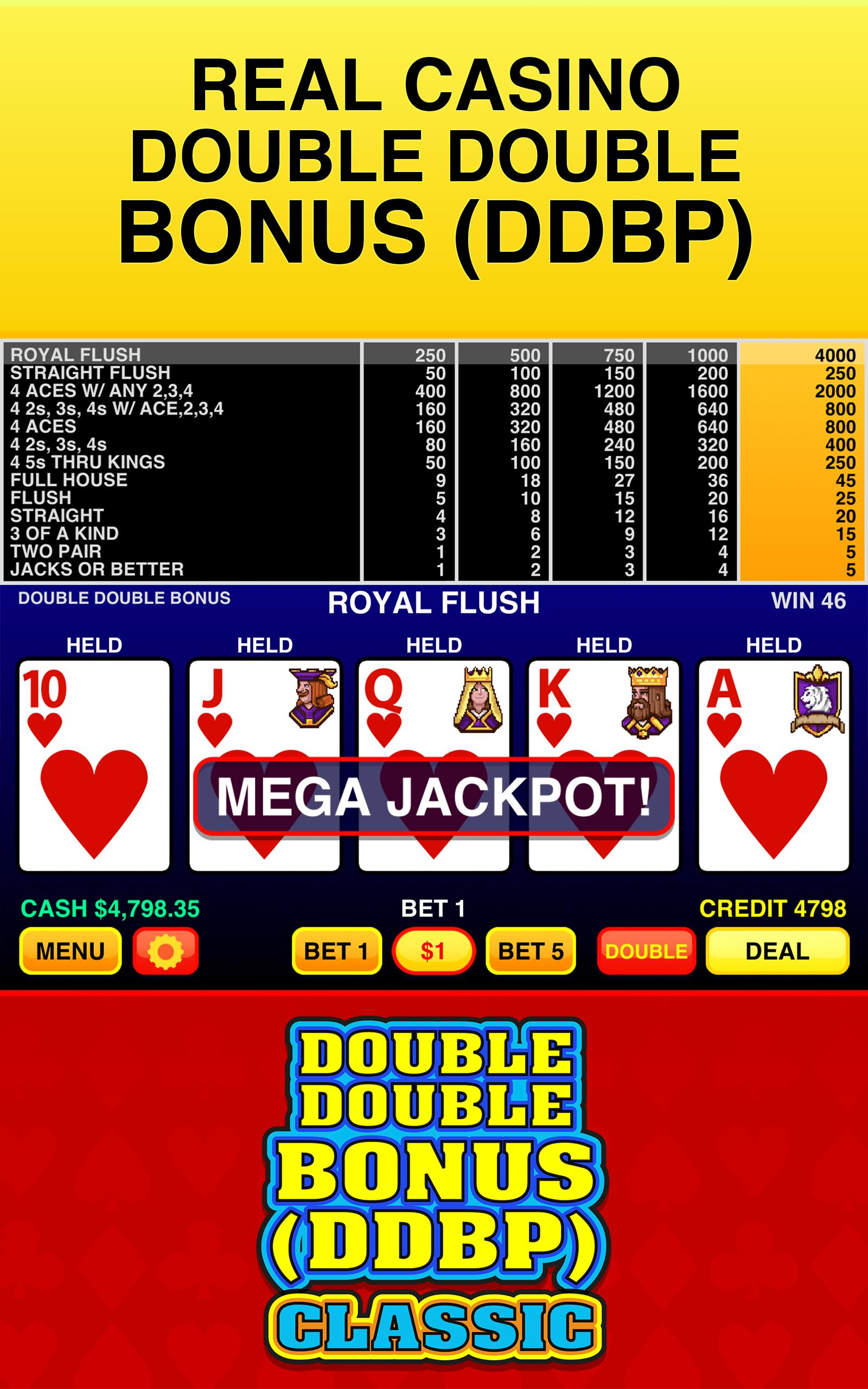 Double Double Bonus Video Poker Trainer