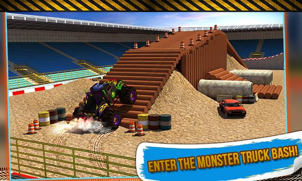 4x4 Monster Truck Stunts 3D poster