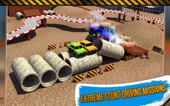4x4 Monster Truck Stunts 3D screenshot 12