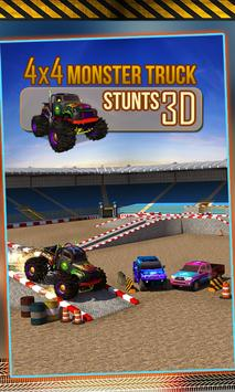 4x4 Monster Truck Stunts 3D screenshot 4