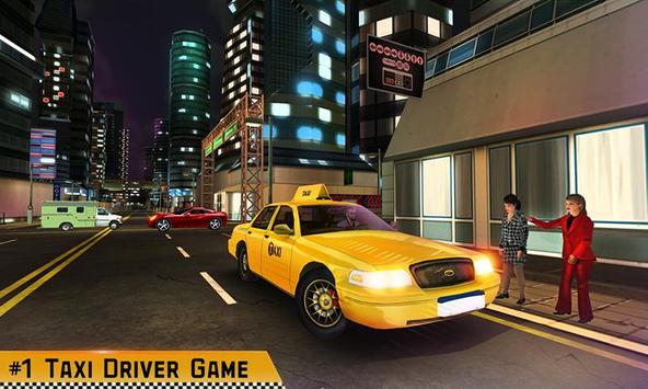 Taxi Driver 3D poster
