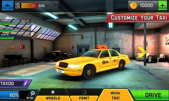 Taxi Driver 3D screenshot 1