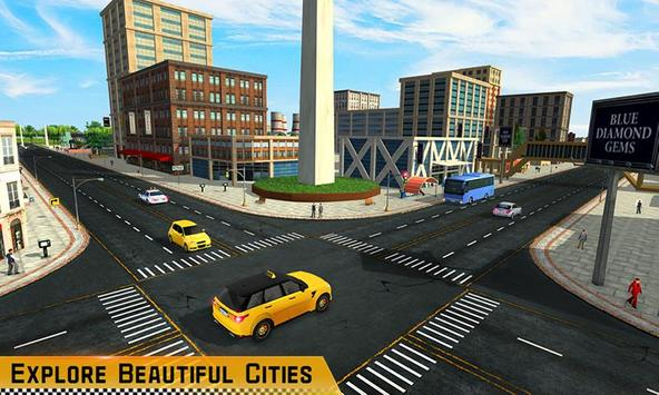 Taxi Driver 3D screenshot 2