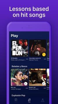 Learn Spanish through music with Lirica screenshot 1