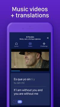Learn Spanish through music with Lirica screenshot 2