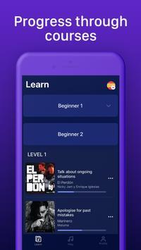 Learn Spanish through music with Lirica screenshot 7