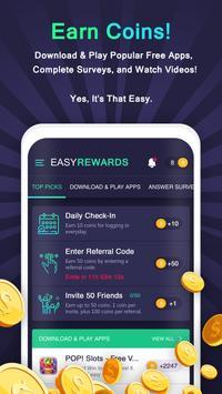 Easy Rewards الملصق