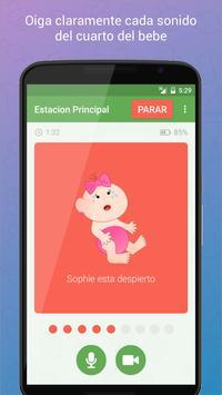 Baby Monitor 3G captura de pantalla 2