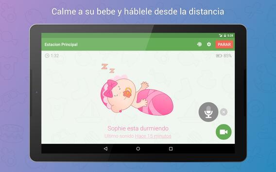Baby Monitor 3G captura de pantalla 8