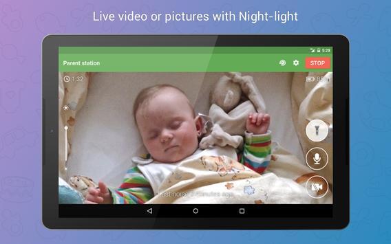 Baby Monitor 3G screenshot 11