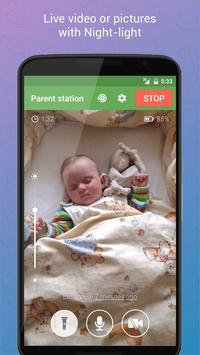 Baby Monitor 3G screenshot 1