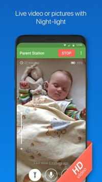 Baby Monitor 3G - Video Nanny & Camera screenshot 1
