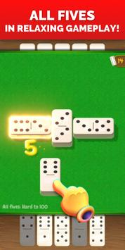 All Fives Dominoes - Classic Online Domino Game poster
