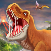 DINO WORLD - Jurassic dinosaur game icono