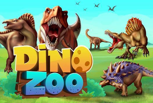DINO WORLD - Jurassic dinosaur game Poster