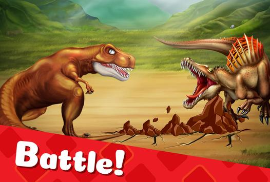 DINO WORLD - Jurassic dinosaur game captura de pantalla 1