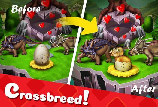DINO WORLD - Jurassic dinosaur game captura de pantalla 2