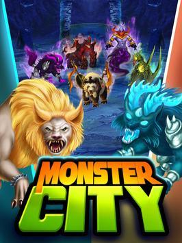 Monster City poster