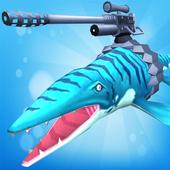 jogo jurássico de ataque ao mar ícone