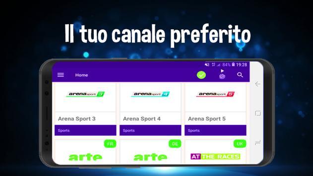 TV HD gratis | guarda i canali guida al programma screenshot 8