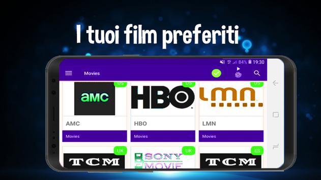 TV HD gratis | guarda i canali guida al programma screenshot 1