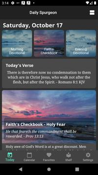 Daily Spurgeon Devotional with Morning and Evening gönderen