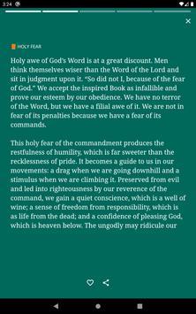 Daily Spurgeon Devotional with Morning and Evening imagem de tela 14
