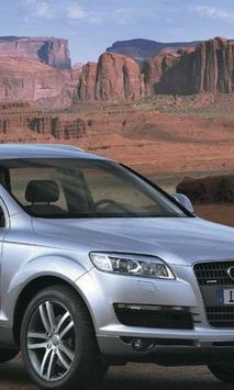 Jigsaw Puzzles Audi Q7 Best Car poster