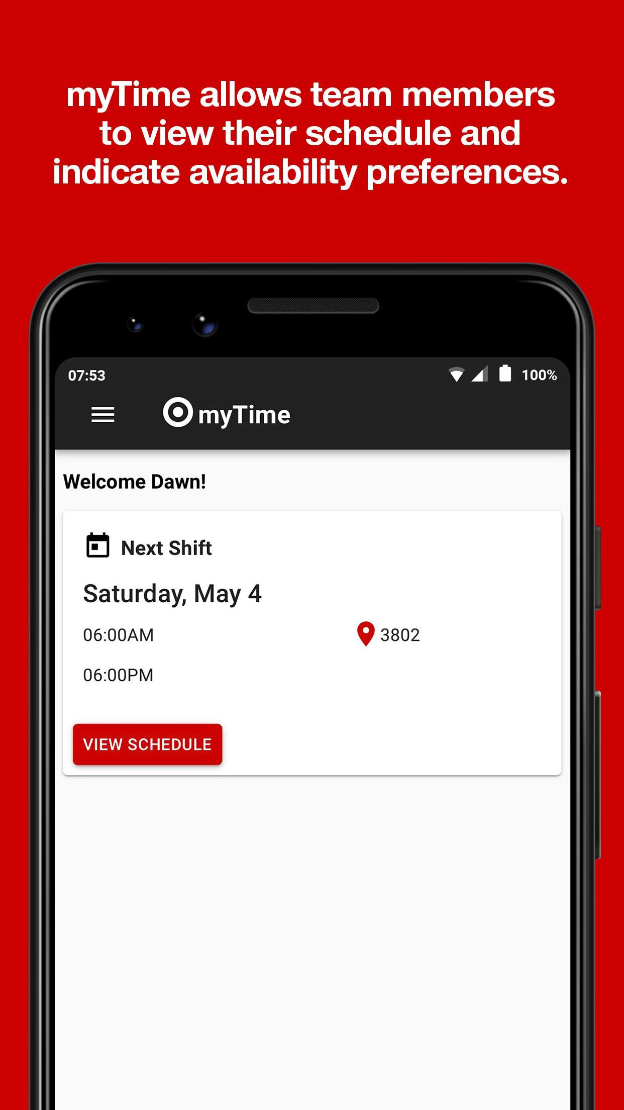 myTime for Target for Android - APK Download