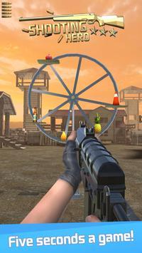 Schießheld: Schießstand Zielspiel Plakat