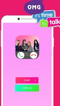 Chat Online With Black Pink : Just Prank Games poster