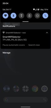 Smart WiFi Selector: connects to strongest WiFi скриншот 3